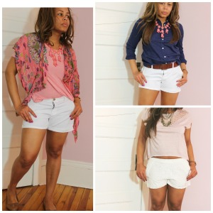 Casual Shorts and Shirts